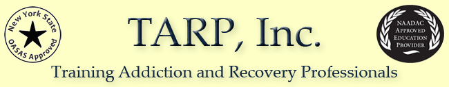 TARP - Training Addiction and Recovery Professionals